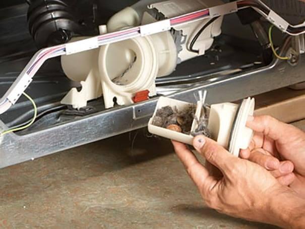 Ремонт насоса помпы стиральной машины киев